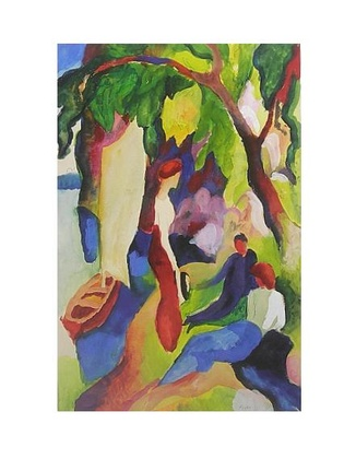 August Macke Frauen am See