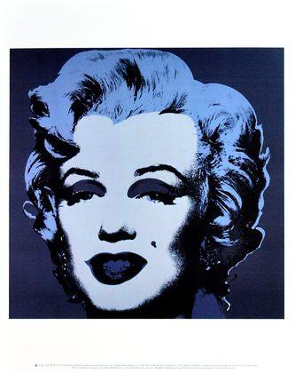 Andy Warhol Marilyn Monroe 1967 (black)