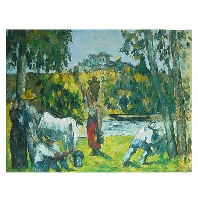 Paul Cezanne Das laendliche Leben