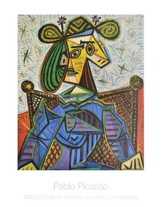 Pablo Picasso Femme Assise dans un Fauteuil