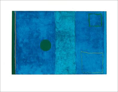 Patrick Heron Blue painting