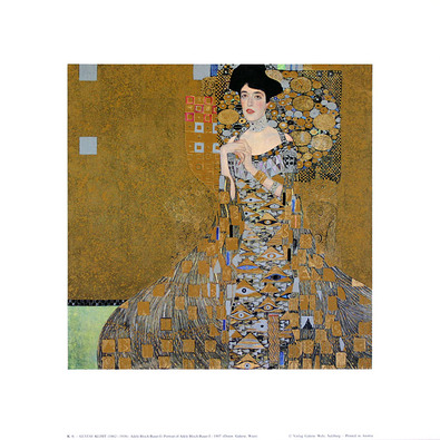 Gustav Klimt Adele Bloch-Bauer I, 1907 (K 6)