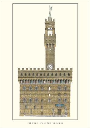 Arnolfo di Cambio Florenz, Palazzo Vecchio
