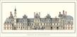 unbekannter Kuenstler Fontainebleau, Chateau