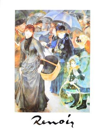 Pierre Auguste Renoir Les Parapluies