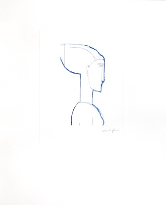 Amedeo Modigliani Female Head