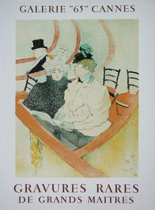 Henri Toulouse-Lautrec Galerie 65 Cannes