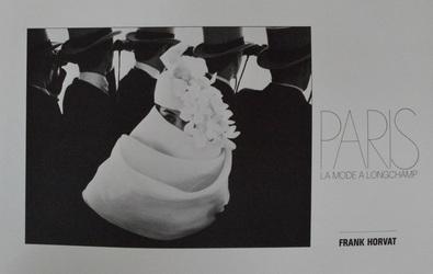 Frank Horvat Paris, La Mode a Longchamp