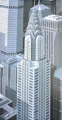 Eric Peyret Blue Chrysler composition