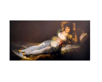 Francisco Goya Die bekleidete Maya