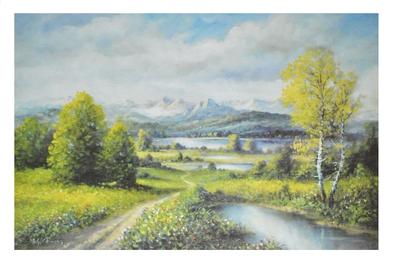 Clemens Seenlandschaft