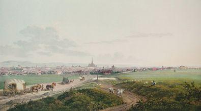 Jakob von Alt Blick auf Wien