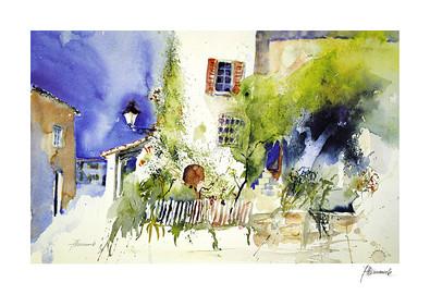 Jeanette Haemmerle Haus, Garten, Laterne