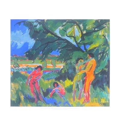 Ernst Ludwig Kirchner Spielende nackte Menschen