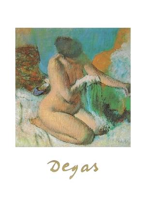 Edgar Degas Nach dem Bad