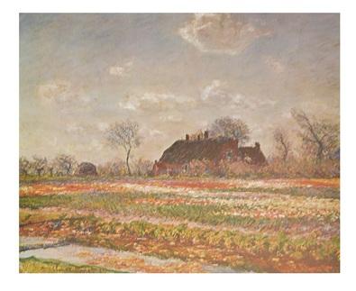 Claude Monet Tulips at Sassenheim