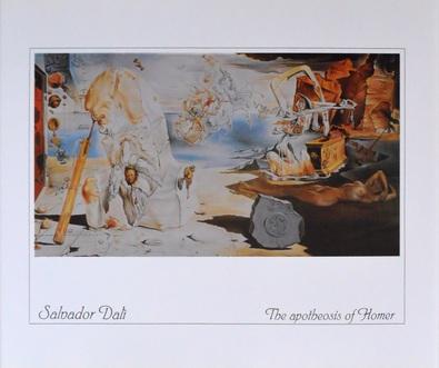 Salvador Dali The Apotheosis of Homer