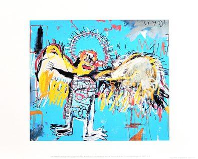 Jean-Michel Basquiat Untitled (Fallen Angel) 1981