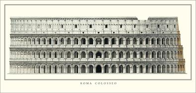 unbekannter Kuenstler Rom, Colosseum