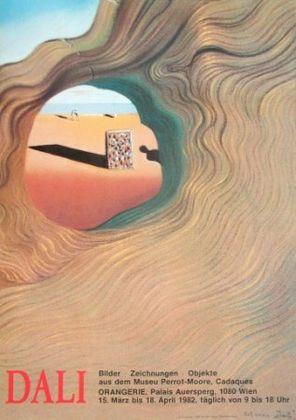 Salvador Dali Durchblick auf den Strand