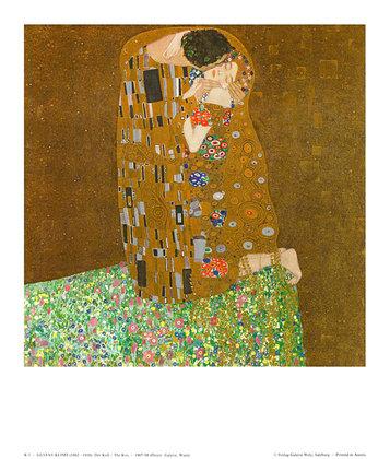 Gustav Klimt Der Kuss, 1908 (K 1)
