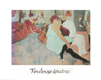 Henri Toulouse-Lautrec Der Salon in der Rue des Moulins