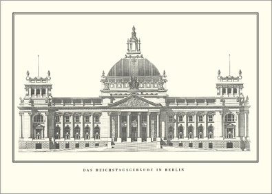 Paul Wallot Berlin, Reichstagsgebaeude