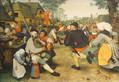 Brueghel pieter der bauerntanz medium