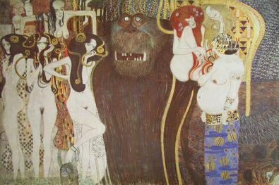 Gustav Klimt Die feindlichen Gewalten  1902