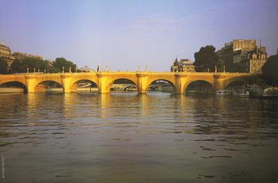 Christo The Pont Neuff Wrapped, Paris 1975-85