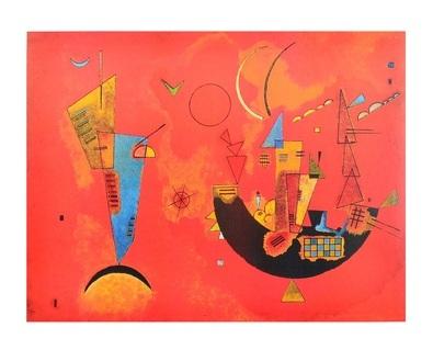 Wassily Kandinsky Mit und Gegen