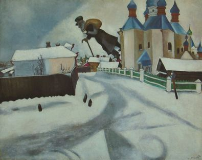 Marc Chagall ueber Witebsk