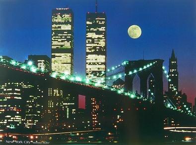 unbekannt New York City Manhattan Skyline