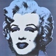 Warhol andy marilyn monroe black medium
