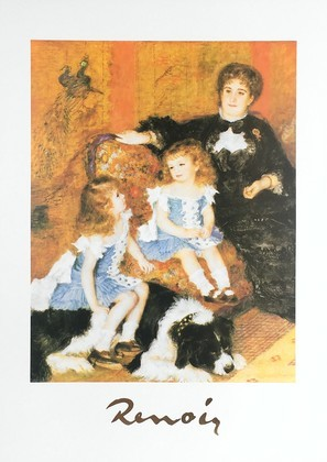 Pierre Auguste Renoir Madame Carpentier