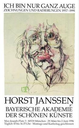 Horst Janssen Ich bin nur ganz Auge