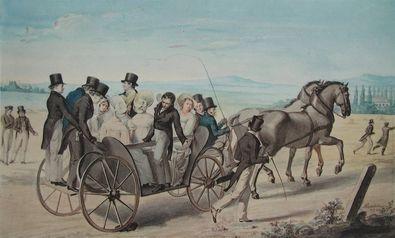 Leopold Kupelwieser Die Landpartie