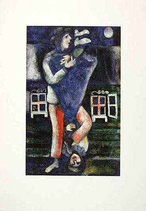 Marc Chagall Der Spaziergang
