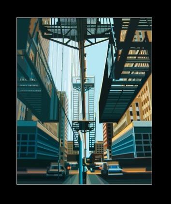 Werner Opitz Fire Escapes