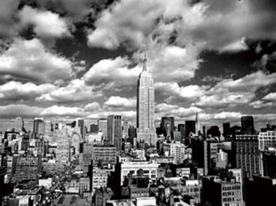 Henri Silberman Sky over Manhatten