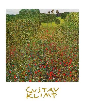 Gustav Klimt Mohnfeld