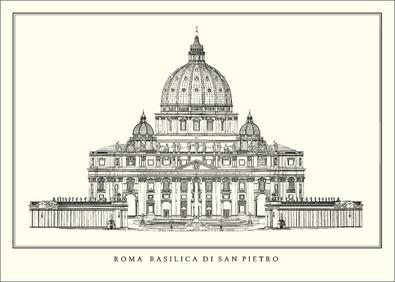 Carlo Maderno Rom, Basilica di San Pietro