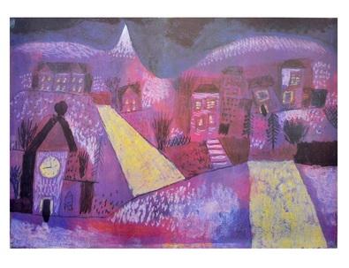 Paul Klee Winterlandschaft