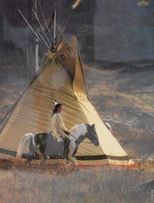 Gabrielle  Boiselle Indianer 7