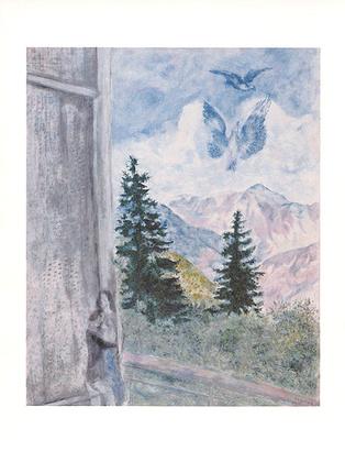 Marc Chagall Landschaft von Peyra-Cava 1930