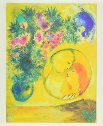 Marc Chagall Sonne und Mimosen