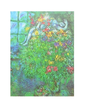 Marc Chagall Le Bouquet Ardent