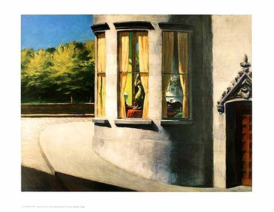Edward Hopper August in the city