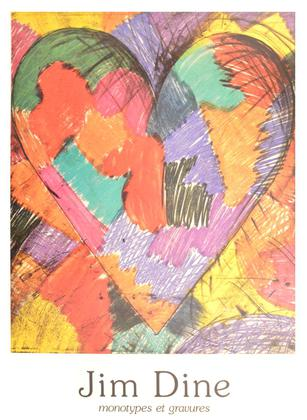 Jim Dine Monotypes et Gravures (1983)