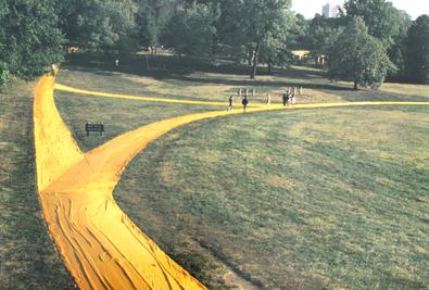 Christo Wrapped Walk Ways, Loose Park, Kansas City Missouri